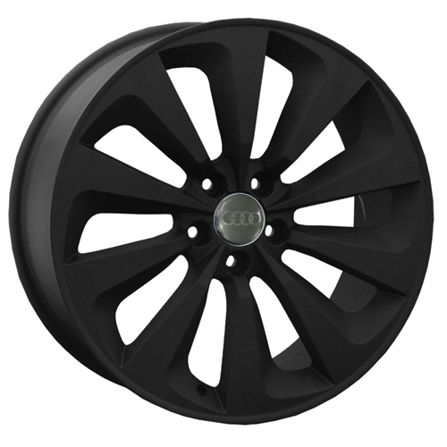 Audi A61bm 8x19 5x112 ET 43 Dia 66.6 BM / Черный мат