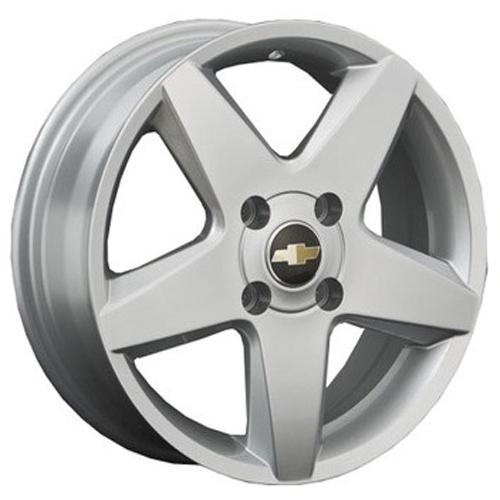 Chevrolet GN16 6.5x16 5x105 ET 39 Dia 56.6 S / Серебристый