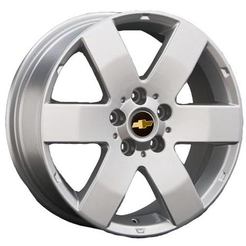 Chevrolet GN20 7x17 5x105 ET 42 Dia 56.6 S / Серебристый