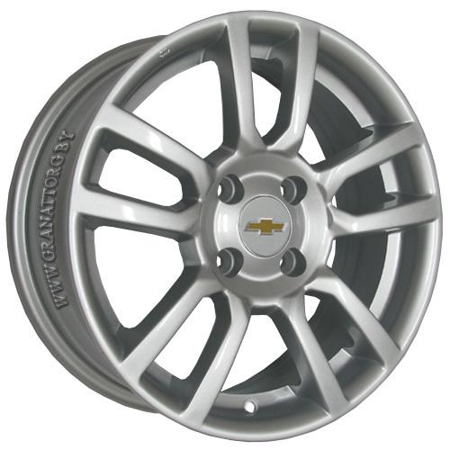 Chevrolet GN58 6.5x16 5x115 ET 46 Dia 70.1 S / Серебристый