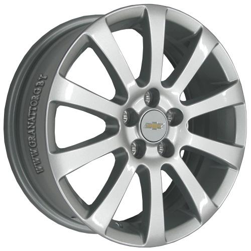 Chevrolet GN68 6x16 5x105 ET 39 Dia 56.6 S / Серебристый
