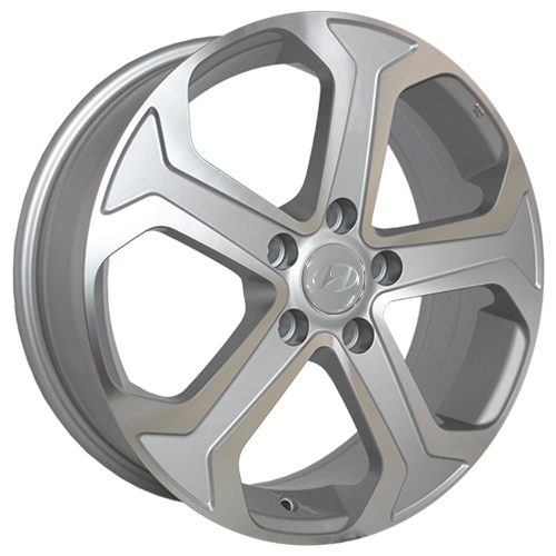 Hyundai HND162ms 6.5x17 5x114.3 ET 48 Dia 67.1 SF / Серебристый с полировкой