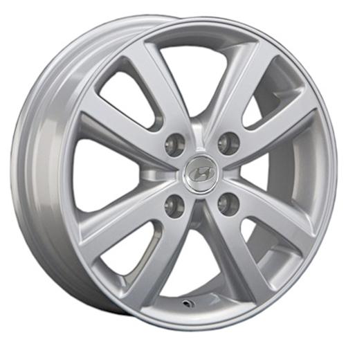 Hyundai HND206 5.5x15 4x100 ET 46 Dia 54.1 S / Серебристый