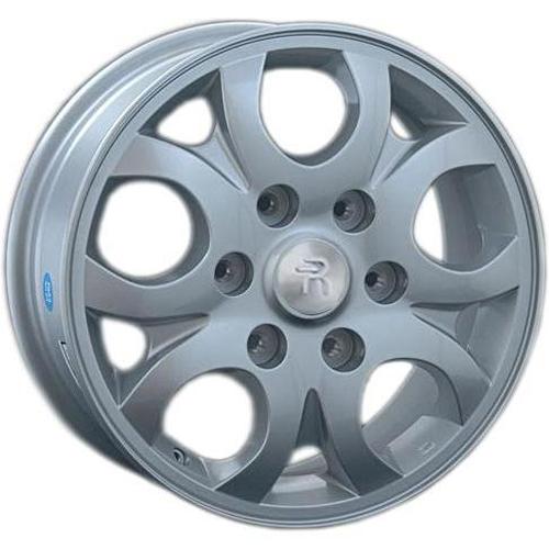 Hyundai HND55 6.5x16 6x139.7 ET 56 Dia 92.3 S / Серебристый