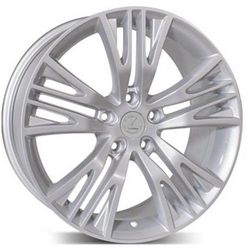 Lexus LX5015 8x18 5x114.3 ET 45 Dia 60.1 Silver / Серебристый