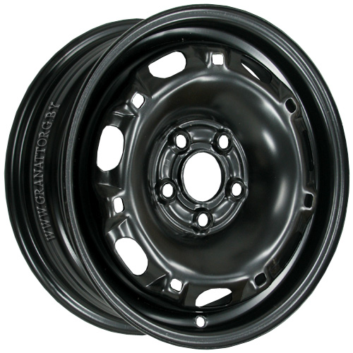 Magnetto 14016 5x14 5x100 ET 35 Dia 57.1 Black / Черный