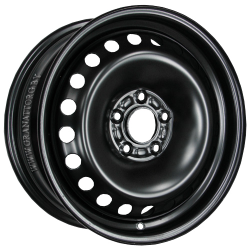 Magnetto 16007 6.5x16 5x114.3 ET 40 Dia 66 Black / Черный
