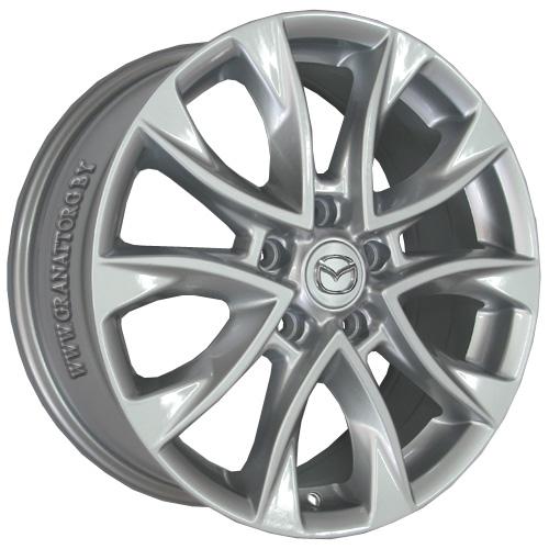 Mazda MZ39 7x17 5x114.3 ET 50 Dia 67.1 S / Серебристый