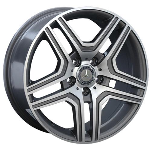Mercedes MR67mg 9.5x20 5x112 ET 43 Dia 66.6 GFM / Серый с полировкой