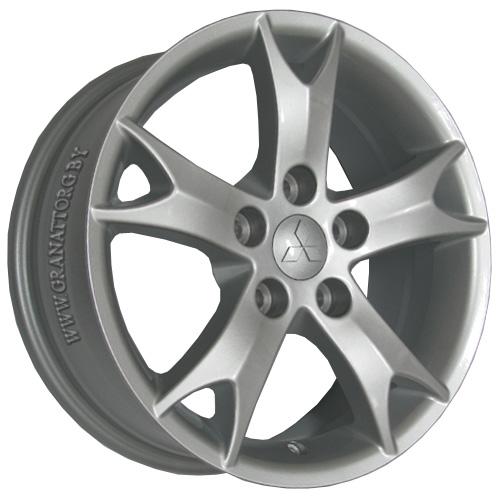 Mitsubishi MI13 6.5x17 5x114.3 ET 38 Dia 67.1 S / Серебристый