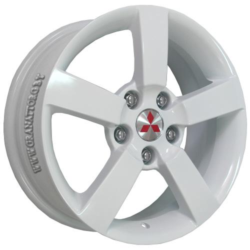 Mitsubishi MI15w 6.5x16 5x114.3 ET 38 Dia 67.1 White / Белый