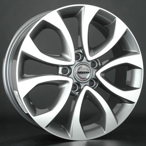 Nissan NS62mg 6.5x16 5x114.3 ET 45 Dia 66.1 GMF / Серый с полировкой