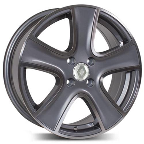 Renault RN720mg 6.5x16 4x100 ET 40 Dia 60.1 GMF / Серый с полировкой