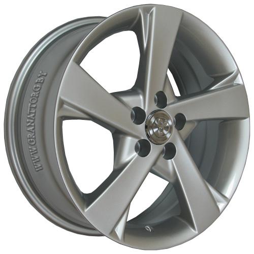 Toyota TY152 6.5x16 5x114.3 ET 45 Dia 60.1 Silver / Серебристый