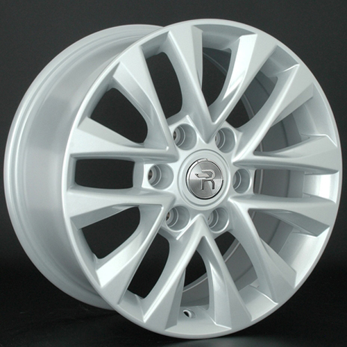 Toyota TY184 7.5x18 6x139.7 ET 25 Dia 106.2 Silver / Серебристый