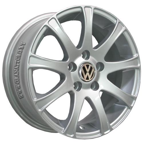 Volkswagen VV176 6x14 5x100 ET 40 Dia 57.1 S / Серебристый