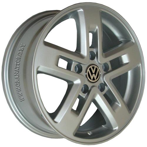 Volkswagen VV21 6.5x16 5x120 ET 50 Dia 65.1 Silver / Серебристый
